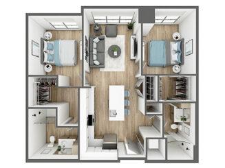 B1 Floor plan layout