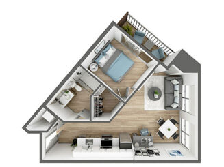 A7 Floor plan layout